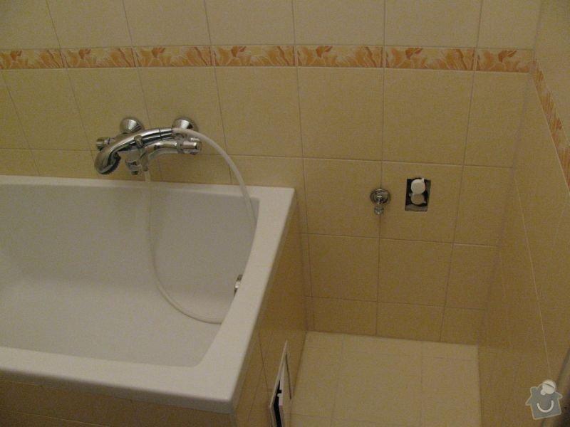 Rozvody vody v koupelně - oprava: koupelna1