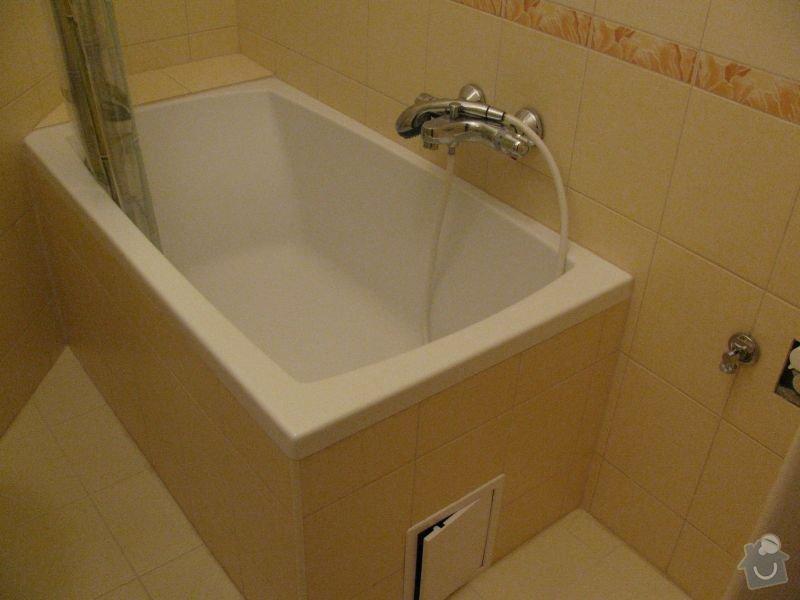 Rozvody vody v koupelně - oprava: koupelna2