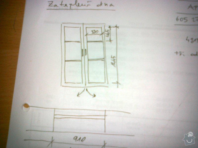 Výroba dřevěného okna včetně montáže: 07092012047