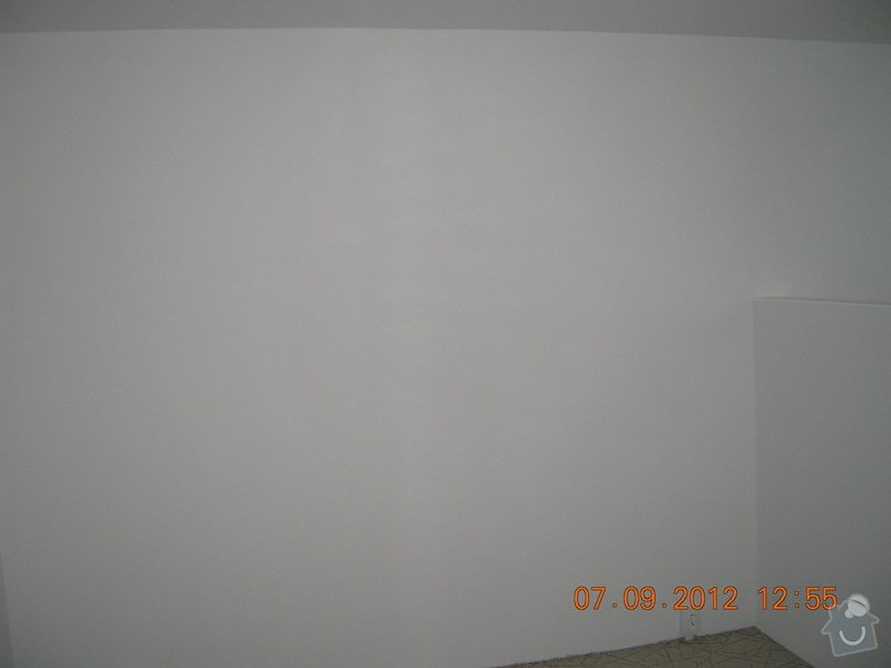 Elektroinstalace, malířské a štukatérské práce(2 pokoje) : DSCN4635