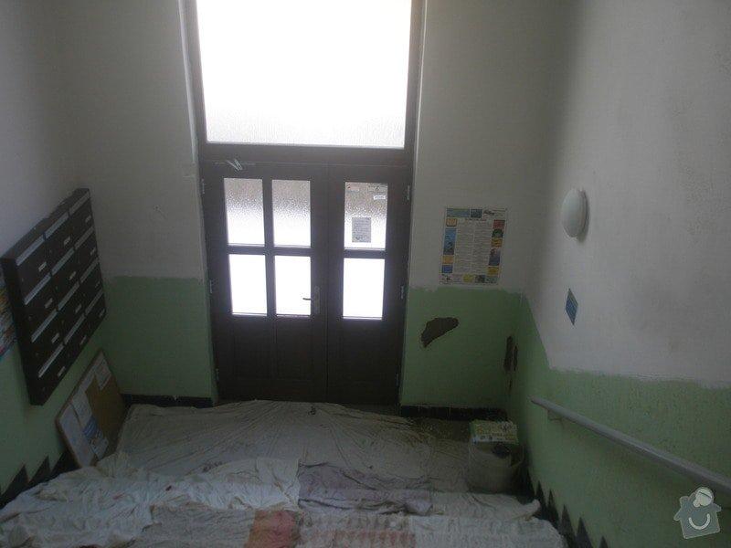 Malování společných prostor domu 6 vchodů: P1010043