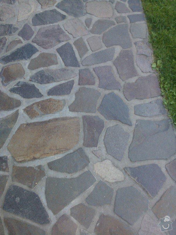 Pokládka přírodího kamene Andezit 20m2: WP_000460