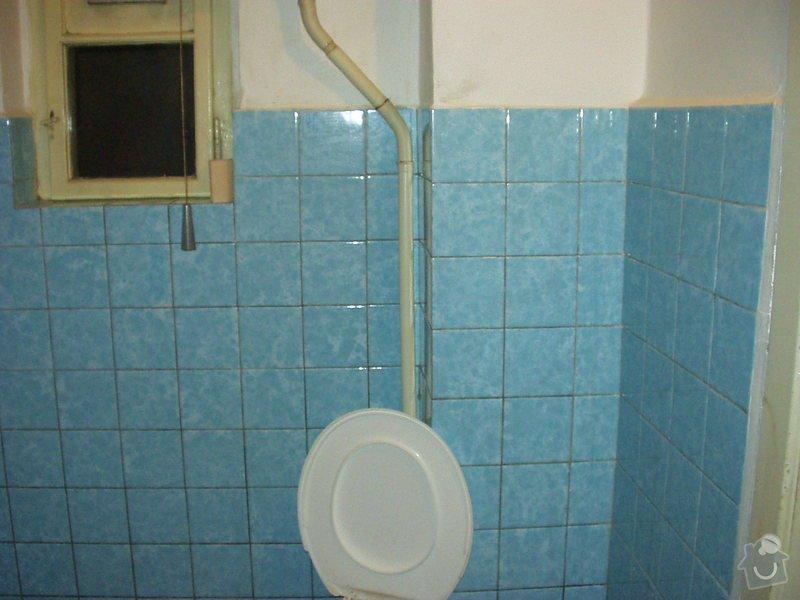 Rekonstrukce koupelny a WC: P5260007
