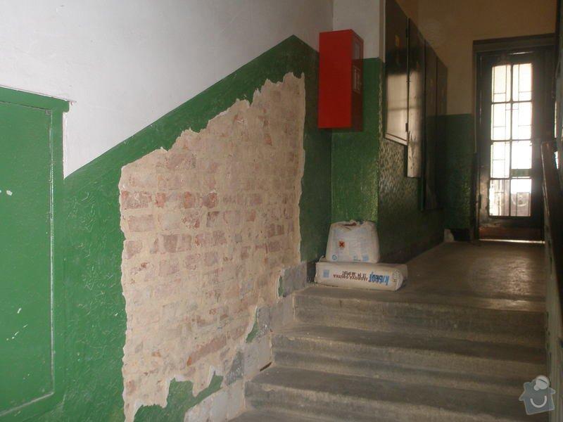 Rekonstrukce společných prostor domu na Vinohradech: P1010112