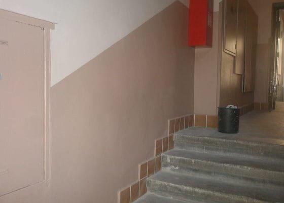 Rekonstrukce společných prostor domu na Vinohradech