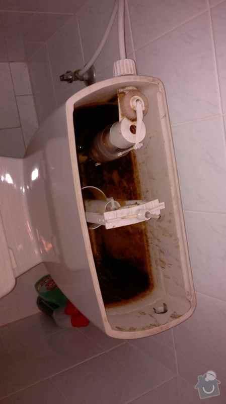 Výměna ventilů nádržky u WC kombi: WC_01