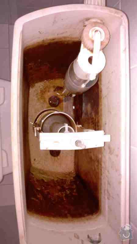 Výměna ventilů nádržky u WC kombi: WC_02