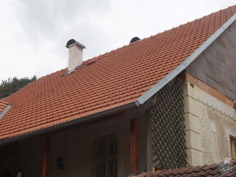 Pokrytí a oplechování střechy: Reference_001
