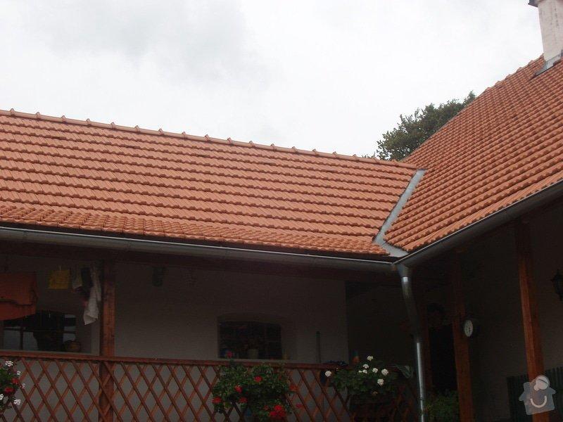 Pokrytí a oplechování střechy: Reference_002