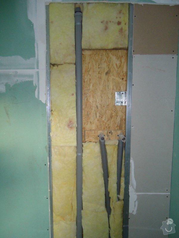 Koupelny a WC obklady,dlažba,: DSC08048