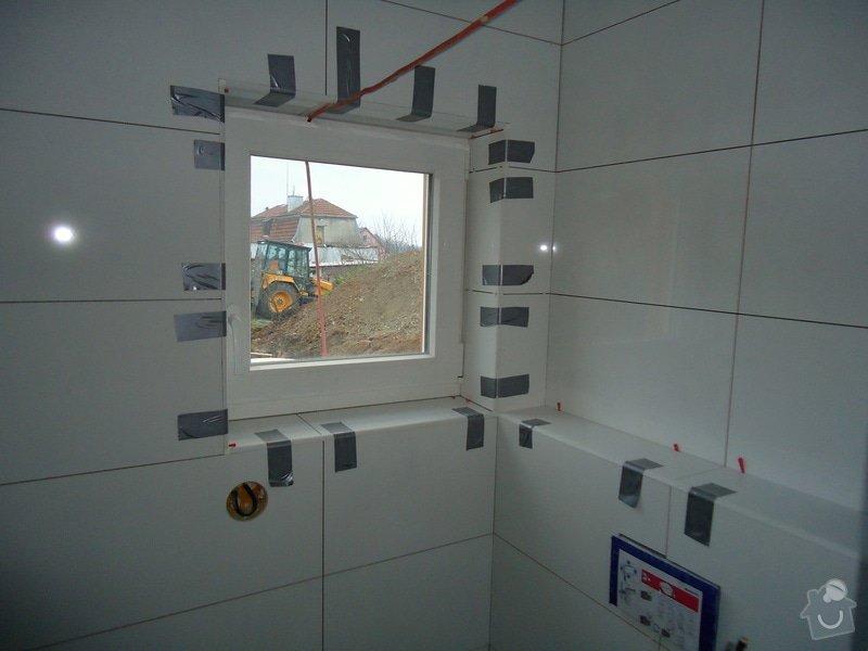 Koupelny a WC obklady,dlažba,: DSC08089
