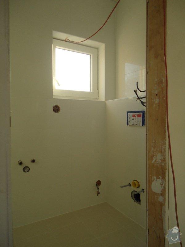 Koupelny a WC obklady,dlažba,: DSC08135