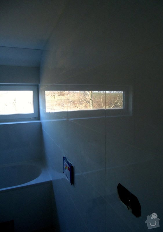 Koupelny a WC obklady,dlažba,: DSC08199