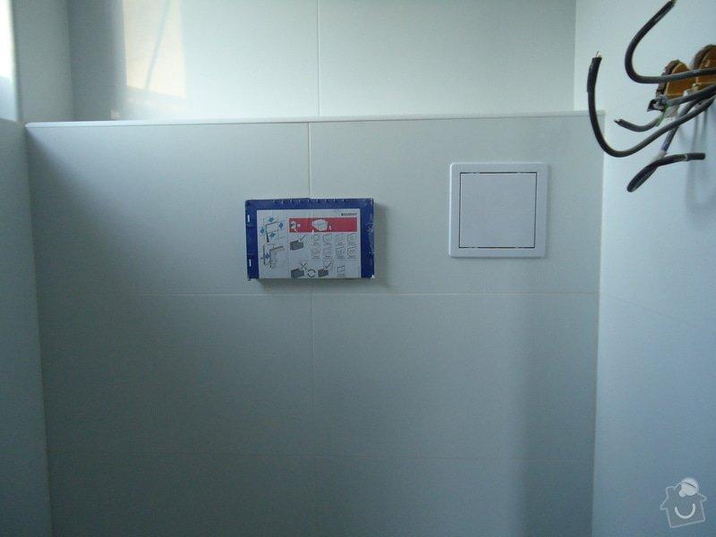 Koupelny a WC obklady,dlažba,: DSC08180