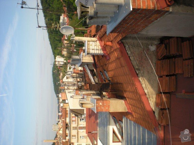 Revitalizace a izolace střechy činžovního domu: DSCN4173