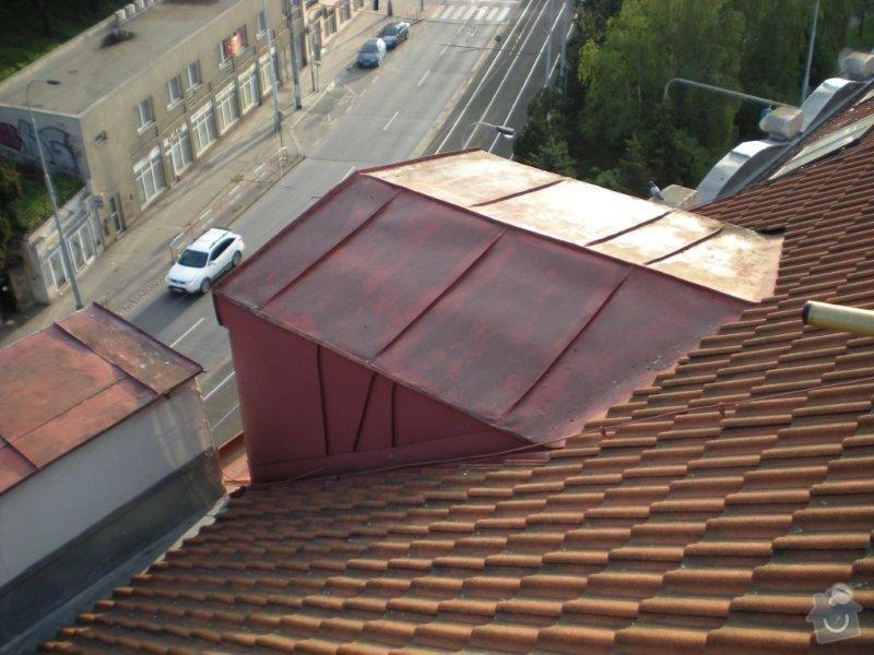 Revitalizace a izolace střechy činžovního domu: DSCN4165