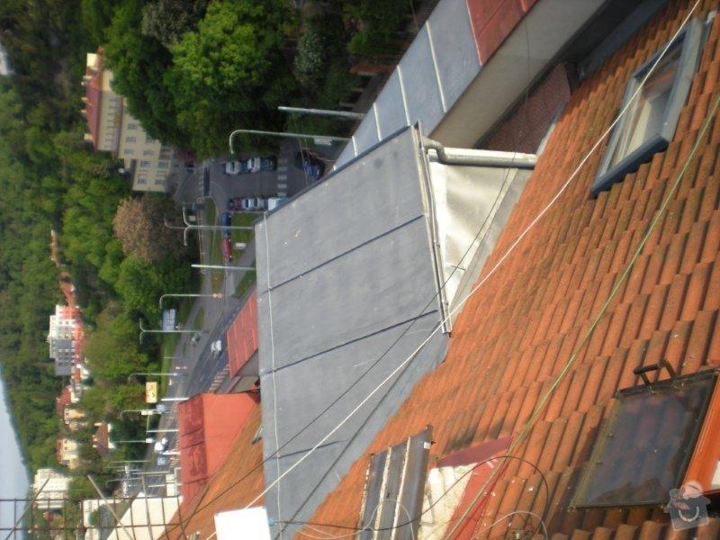 Revitalizace a izolace střechy činžovního domu: DSCN4166