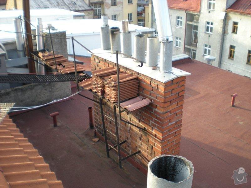 Revitalizace a izolace střechy činžovního domu: DSCN4167