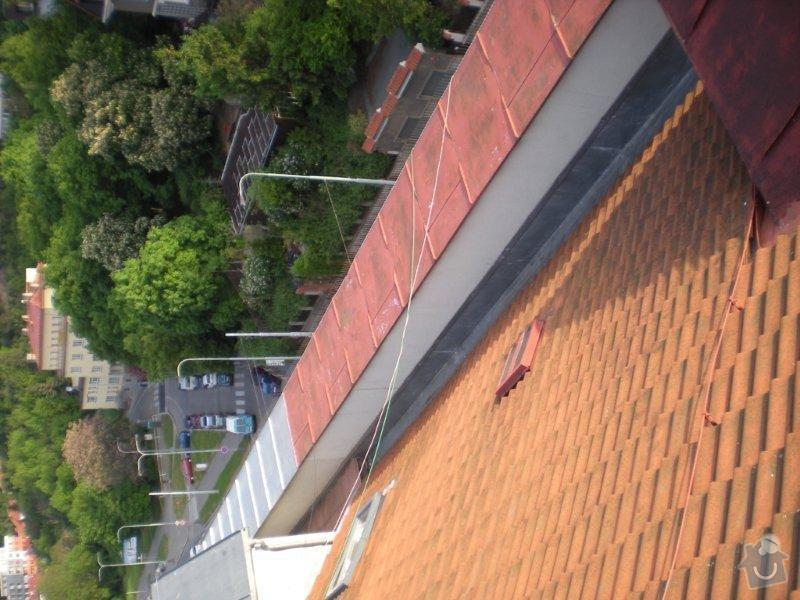 Revitalizace a izolace střechy činžovního domu: DSCN4168