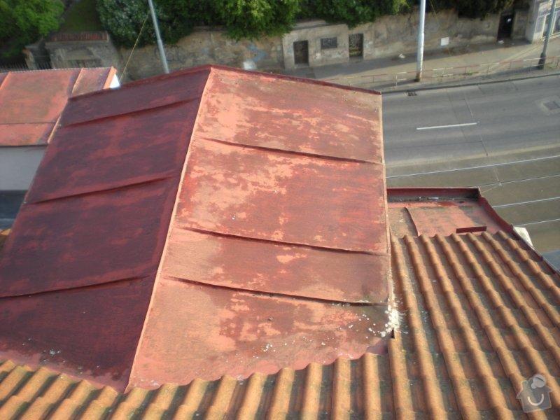 Revitalizace a izolace střechy činžovního domu: DSCN4169