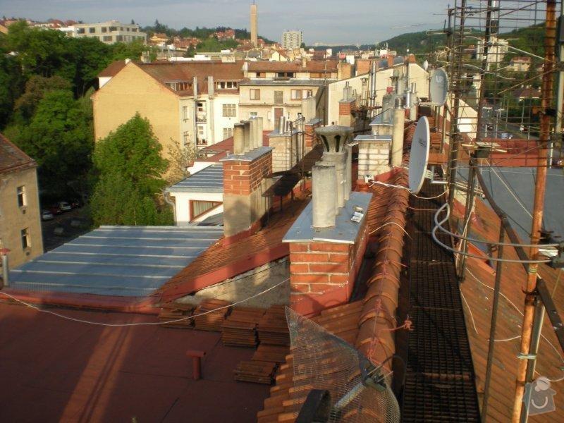 Revitalizace a izolace střechy činžovního domu: DSCN4170
