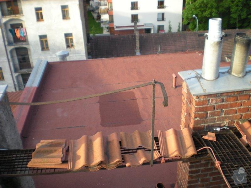 Revitalizace a izolace střechy činžovního domu: DSCN4171