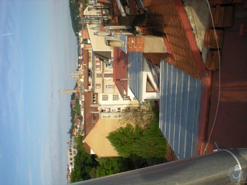 Revitalizace a izolace střechy činžovního domu: DSCN4172