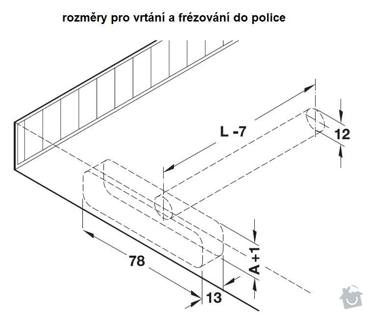 Truhlářské práce, řezání desek na police: 283.33.93x_3_