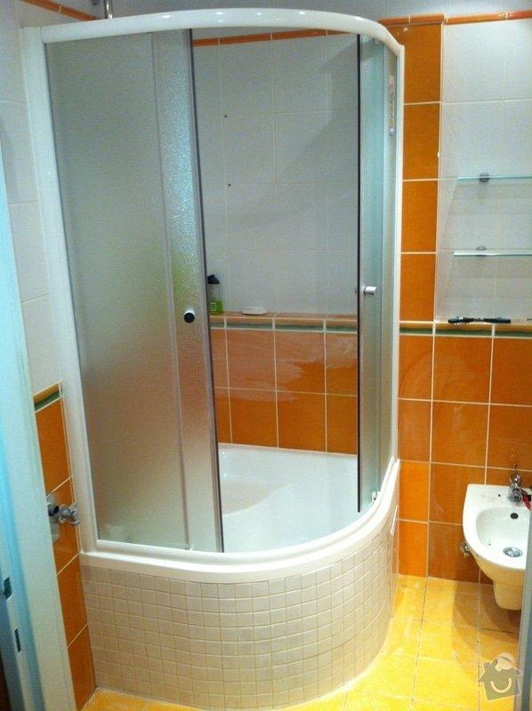 Kompletni vymena sprchoveho koutu: nova1