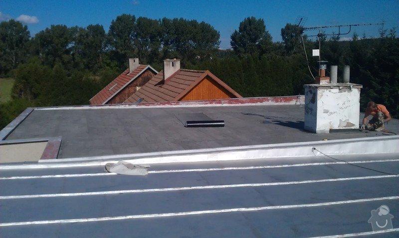 Zateplení ploché střech rodinného domu s přípravou pro umístění solárních elektrických panelů: IMAG1398