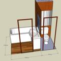 Rekonstrukce koupelnoveho jadra panelak umakart koupelna1