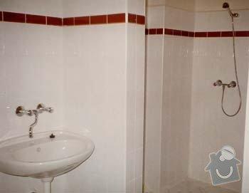 Rekonstrukce rodinného penzionu: sprchy_penzion