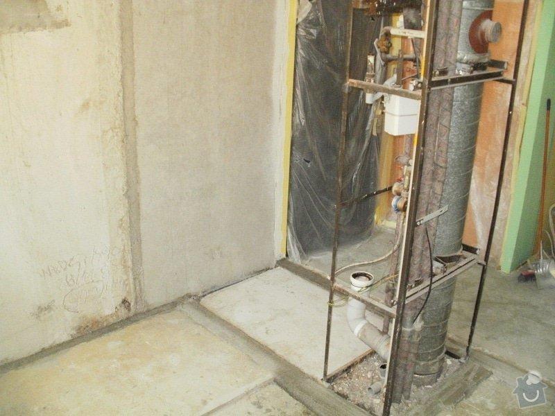 Rekonstrukce bytového jádra a stavební úpravy pro osazení kuchyňské linky: 2