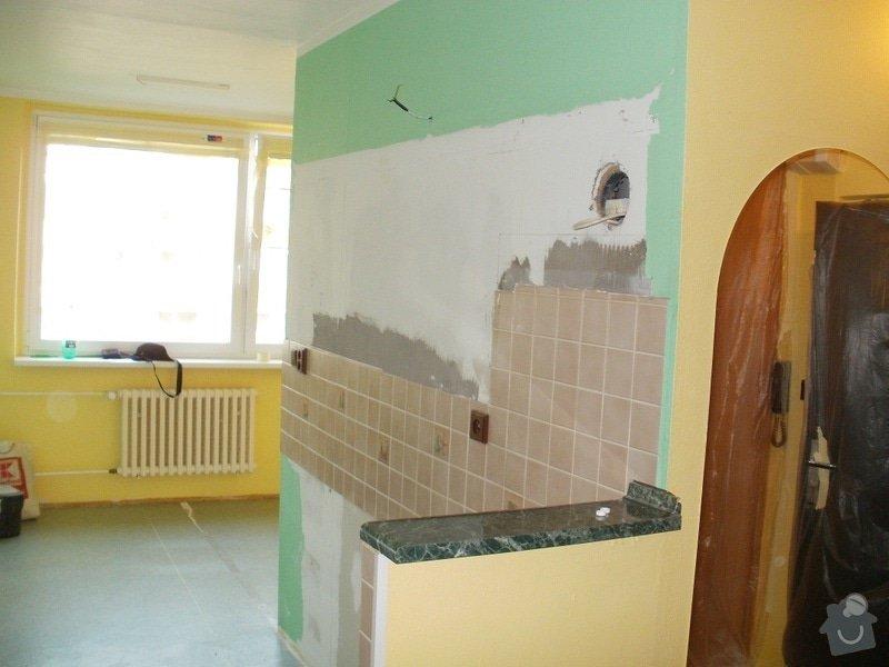 Rekonstrukce bytového jádra a stavební úpravy pro osazení kuchyňské linky: 4
