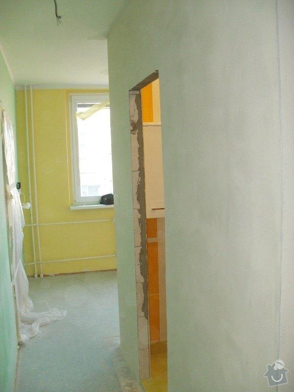 Rekonstrukce bytového jádra a stavební úpravy pro osazení kuchyňské linky: 6
