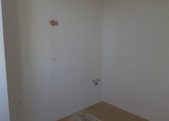 Příprava el. rozvodů pro kuchyňskou linku v panelovém domě
