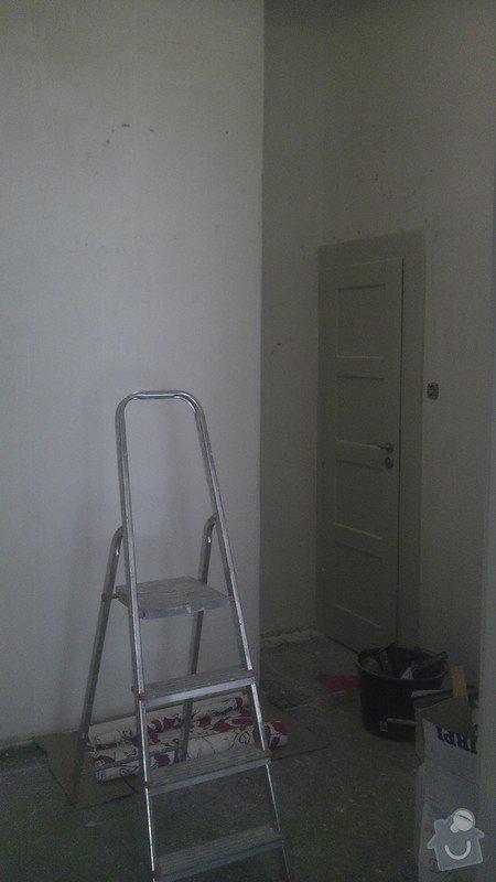 Tapetování (předsíň a jedna stěna v pokoji): IMAG0344
