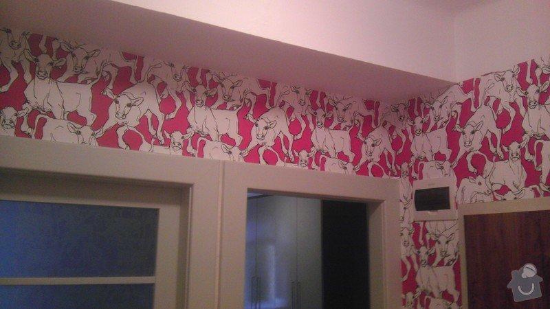 Tapetování (předsíň a jedna stěna v pokoji): IMAG0354
