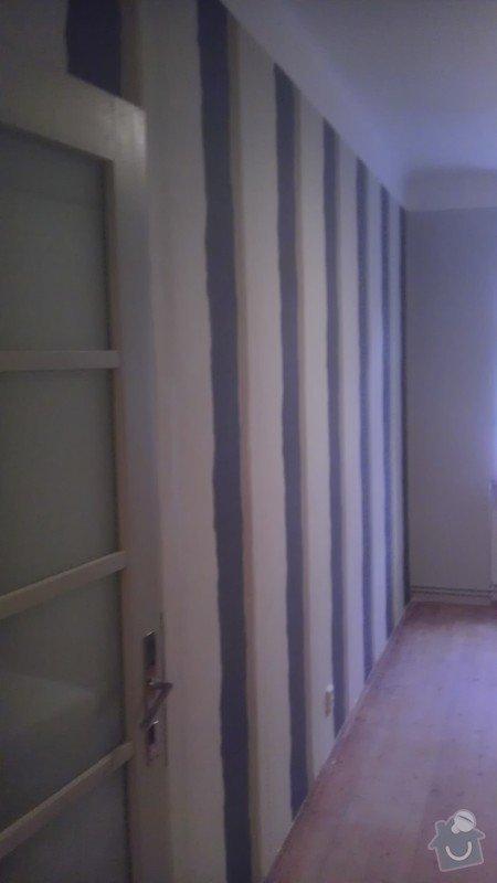Tapetování (předsíň a jedna stěna v pokoji): IMAG0360