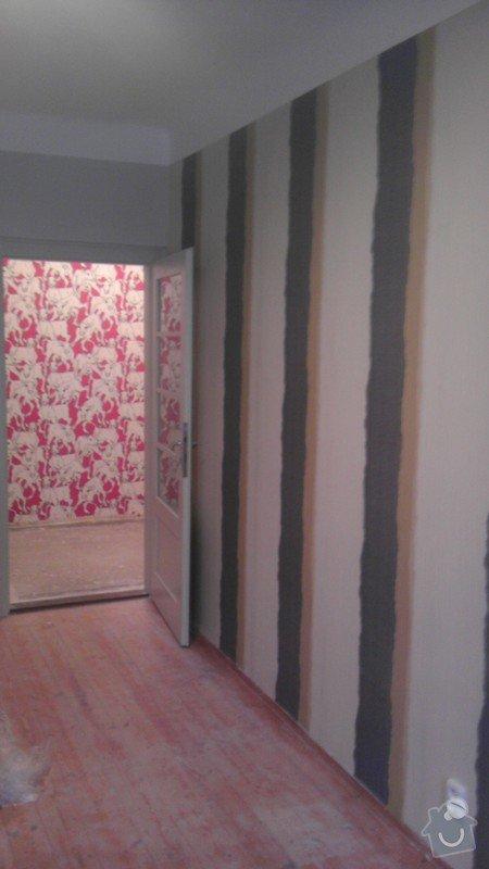 Tapetování (předsíň a jedna stěna v pokoji): IMAG0361