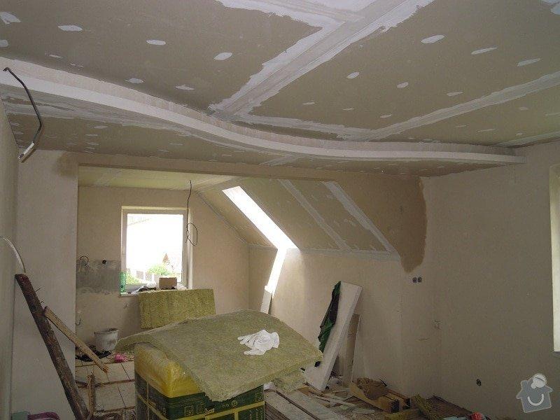 Kompletní rekonstrukce 1.NP v rodinném domě: 166-25