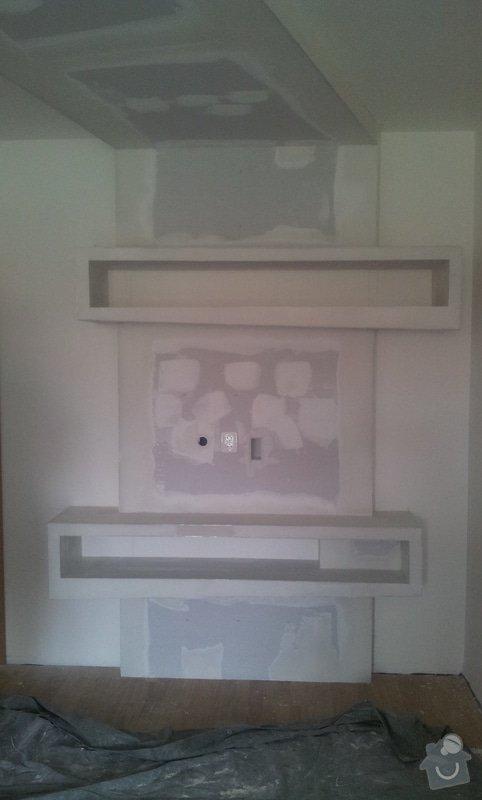 Sádrokarton - zakrytí digestoře: 20120905_122846