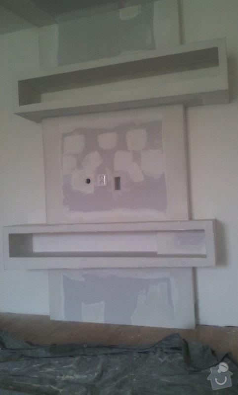 Sádrokarton - zakrytí digestoře: 20120905_122938
