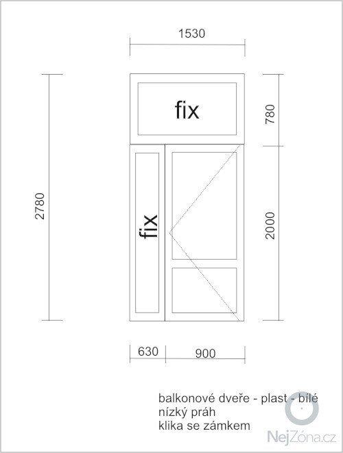 Vchodové dveře: dvere-pracovna-ubytovna-plast-2012