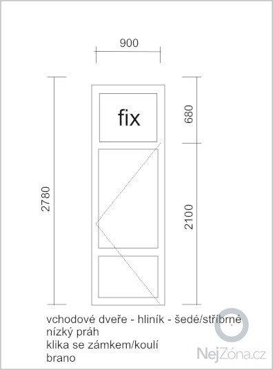 Vchodové dveře: vchodove_dvere-ubytovna-hlinik-2012