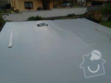 Foliová střecha na garáži: Stresni_folie_1