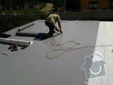 Foliová střecha na garáži: Stresni_folie_3