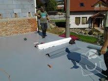 Foliová střecha na garáži: Stresni_folie_4
