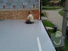 Foliová střecha na garáži: Stresni_folie_5
