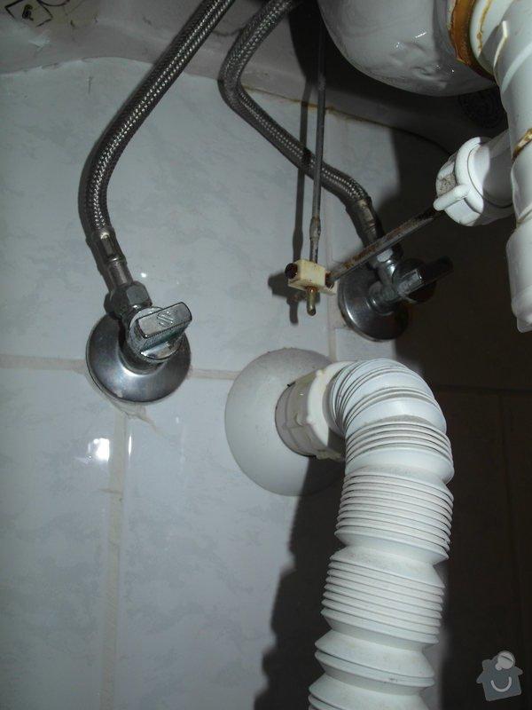 Výměna vodovodních baterií - 2x: Umyvadlo_koupelna_2